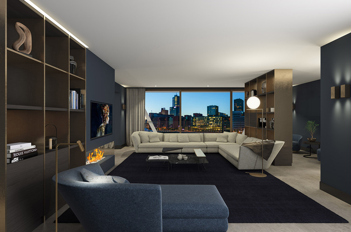 Woningtype Royal penthouses